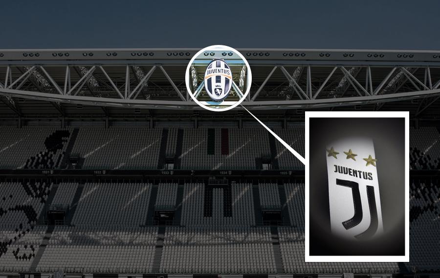 nuovo logo juventus stadium