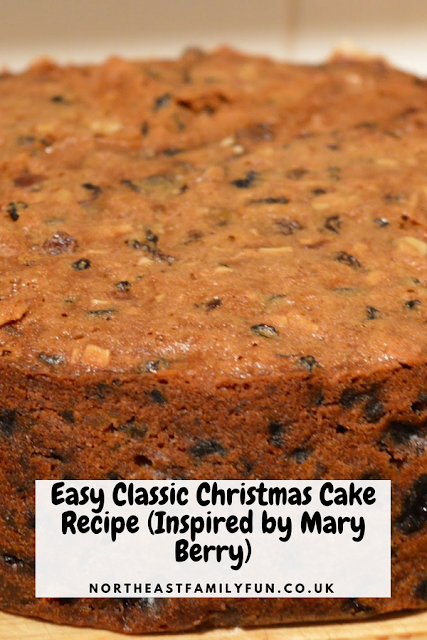 Easy Classic Christmas Cake Recipe (Inspired by Mary Berry) #ChristmasCake #Easy #Recipe #MaryBerry