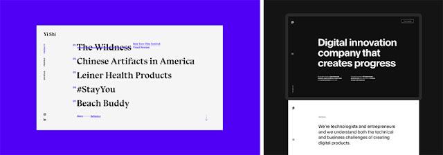 Xu hướng thiết kế website 2020 sẽ tận dụng triệt để nghệ thuật typography
