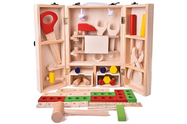 Boite-a-outils-pour-enfants-jouets-en-bois