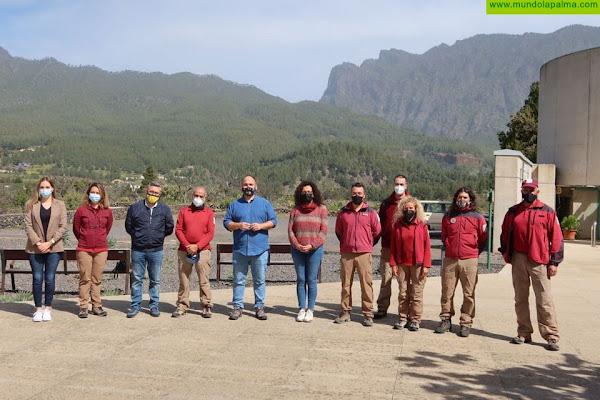 El Gobierno canario invierte 1,8 millones de euros en el Parque Nacional de La Caldera de Taburiente