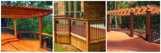 Different deck designs,