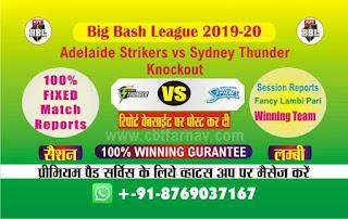 Thunder vs Adelaide Big Bash Knockout