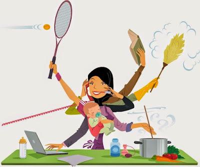 tips mudah uruskan rumahtangga bagi ibu bekerjaya
