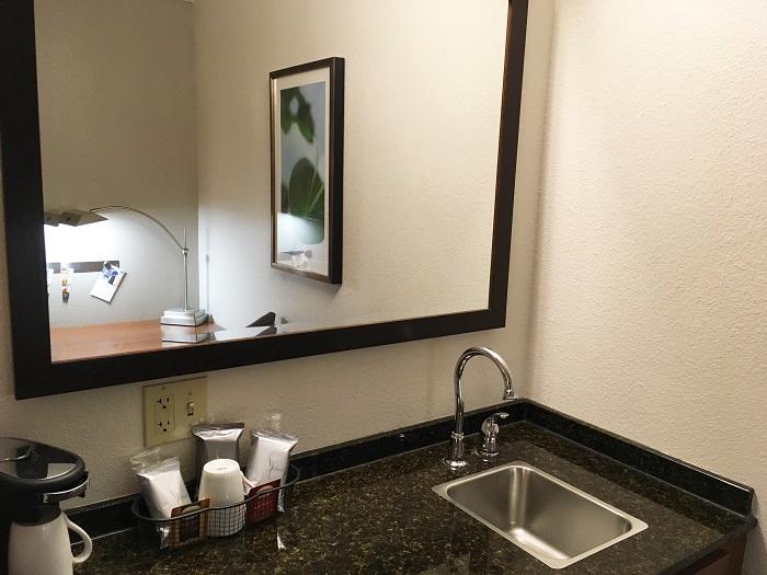 his business trip new starbucks mug uber and hotel room. Black Bedroom Furniture Sets. Home Design Ideas