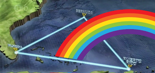 """GAY """"MARRIAGE"""" DISAPPEARS IN BERMUDA TRIANGLE"""