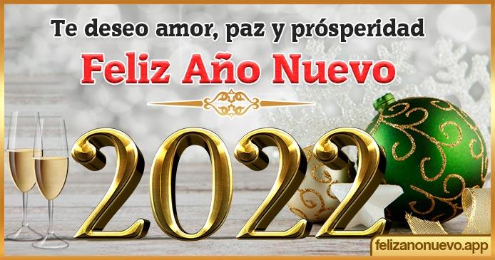 Deseos de Año Nuevo 2022