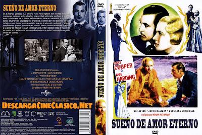 Carátula dvd: Sueño de amor eterno