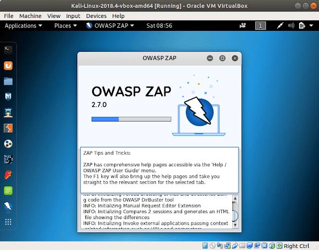 فحص واستخراج الثغرات في تطبيقات الويب والمواقع - OWASP Zed Attack Proxy