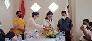 Peresmian Kantor DPC Gerindra Tana Toraja, dr Zadrak : Saya Siap Besarkan Partai Gerindra