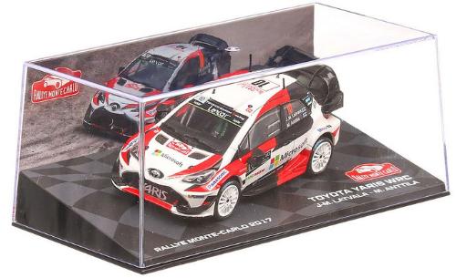 collezione rally monte carlo Toyota Yaris WRC 2017 Jari-Matti Latvala - Miikka Anttila