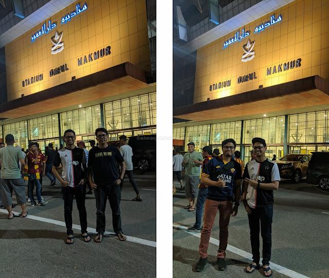 Pengalaman Menonton Bola Sepak Di Stadium Darul Makmur Bagi Tahun 2020