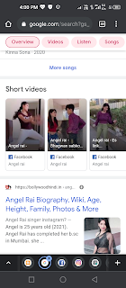 Angel Rai short video comedy musician song