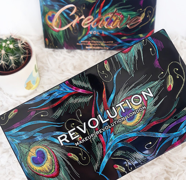 MakeUp Revolution Creative vol-one paleta sjenila