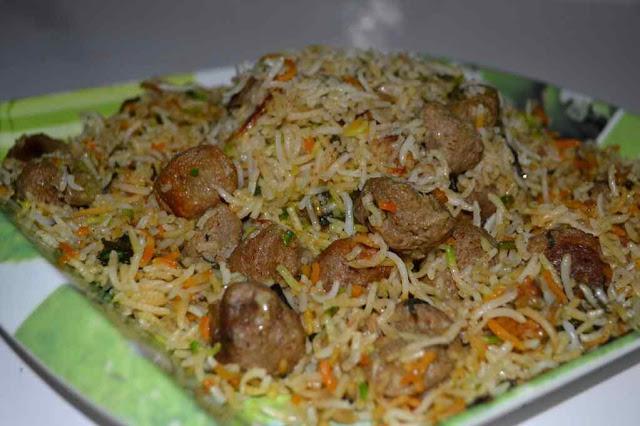 soyabean biryani recipe-सोया chunks बिरयानी रेसिपी