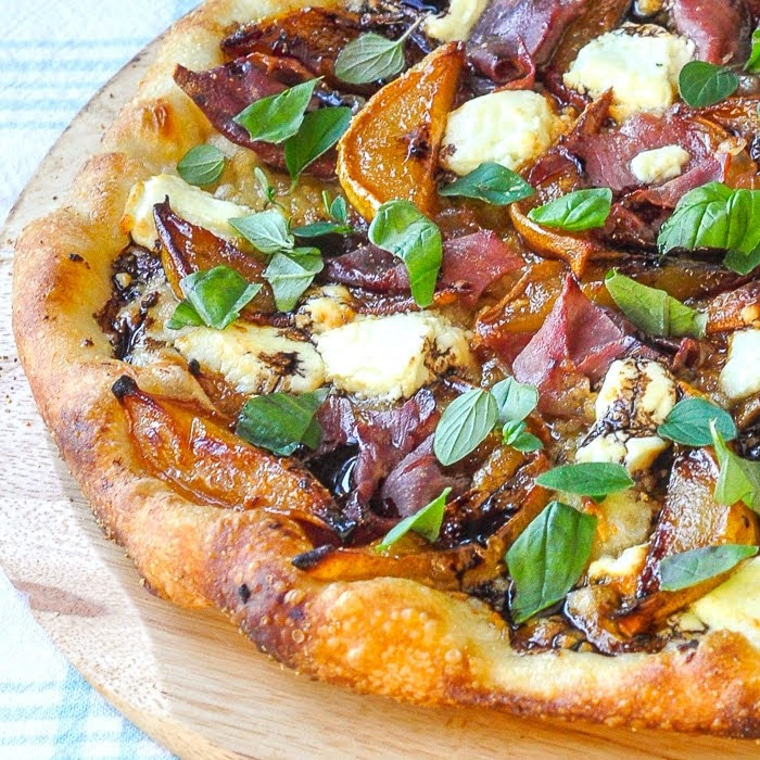 Caramelized Pear Prosciutto Pizza | Photo Courtesy of Rock Recipes