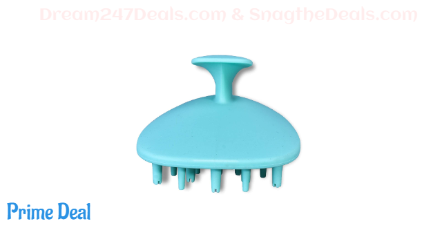 50% off   Silicone Handheld Hair Scalp Massager Shampoo Brush (all color)