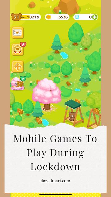 animal restaurant, rilakkuma farm, mobile games