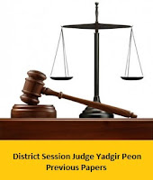 District Session Judge Yadgir Peon Previous Papers