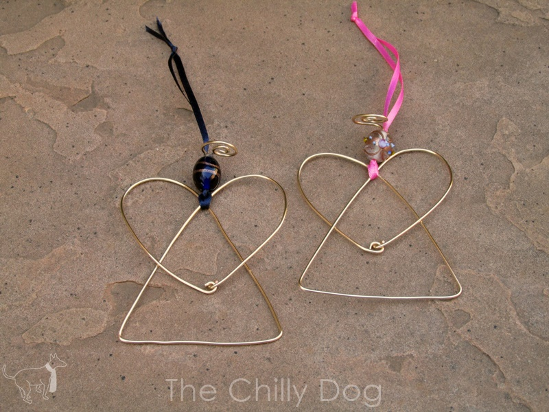 En Wire Angel | Tutorial Wire Angel Ornaments The Chilly Dog