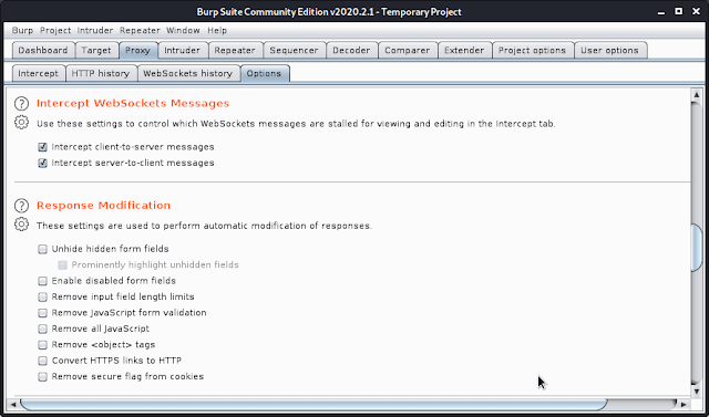 Burp Suite Responce modification