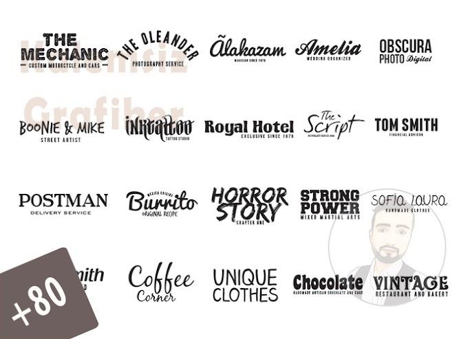 100 Adet Logotype Bundle Paketi