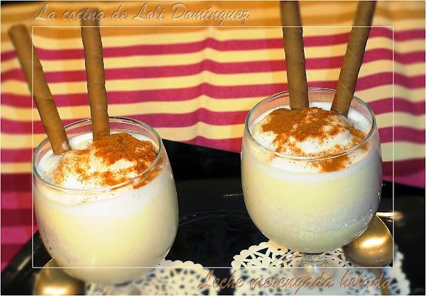 Un postre fresquito y buenísimo: leche merengada helada