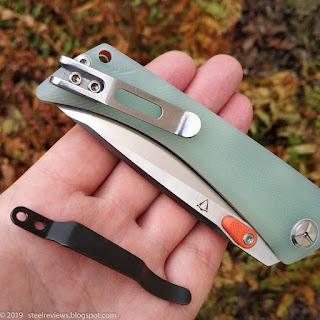 TwoSun TS80 G10 pocket clip mod