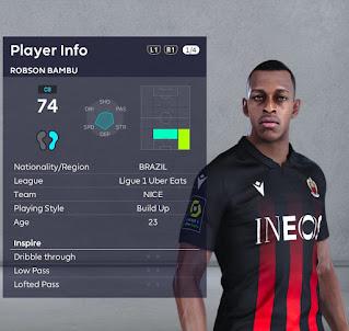 PES 2021 Faces Robson Bambu