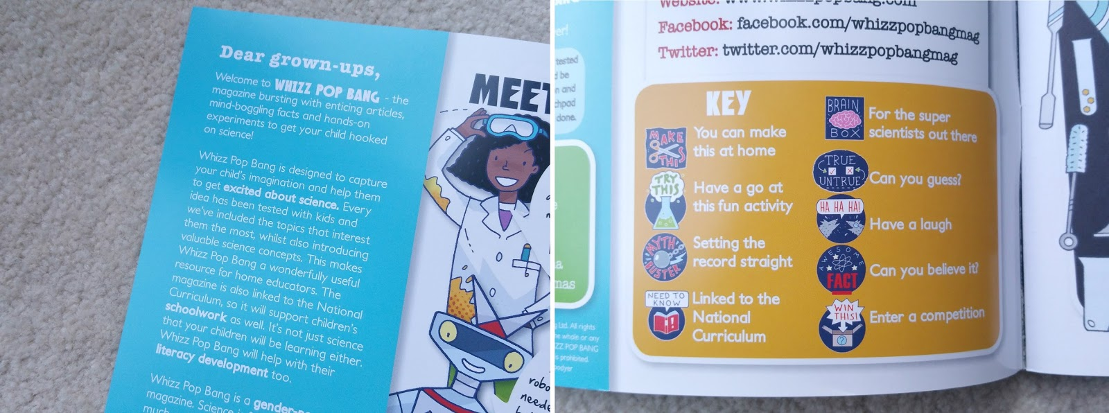 Whizz Pop Bang Science Magazine for Kids, Children educational magazine, subscription magazine