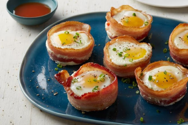 Bacon and Egg Cups #paleo #breakfast