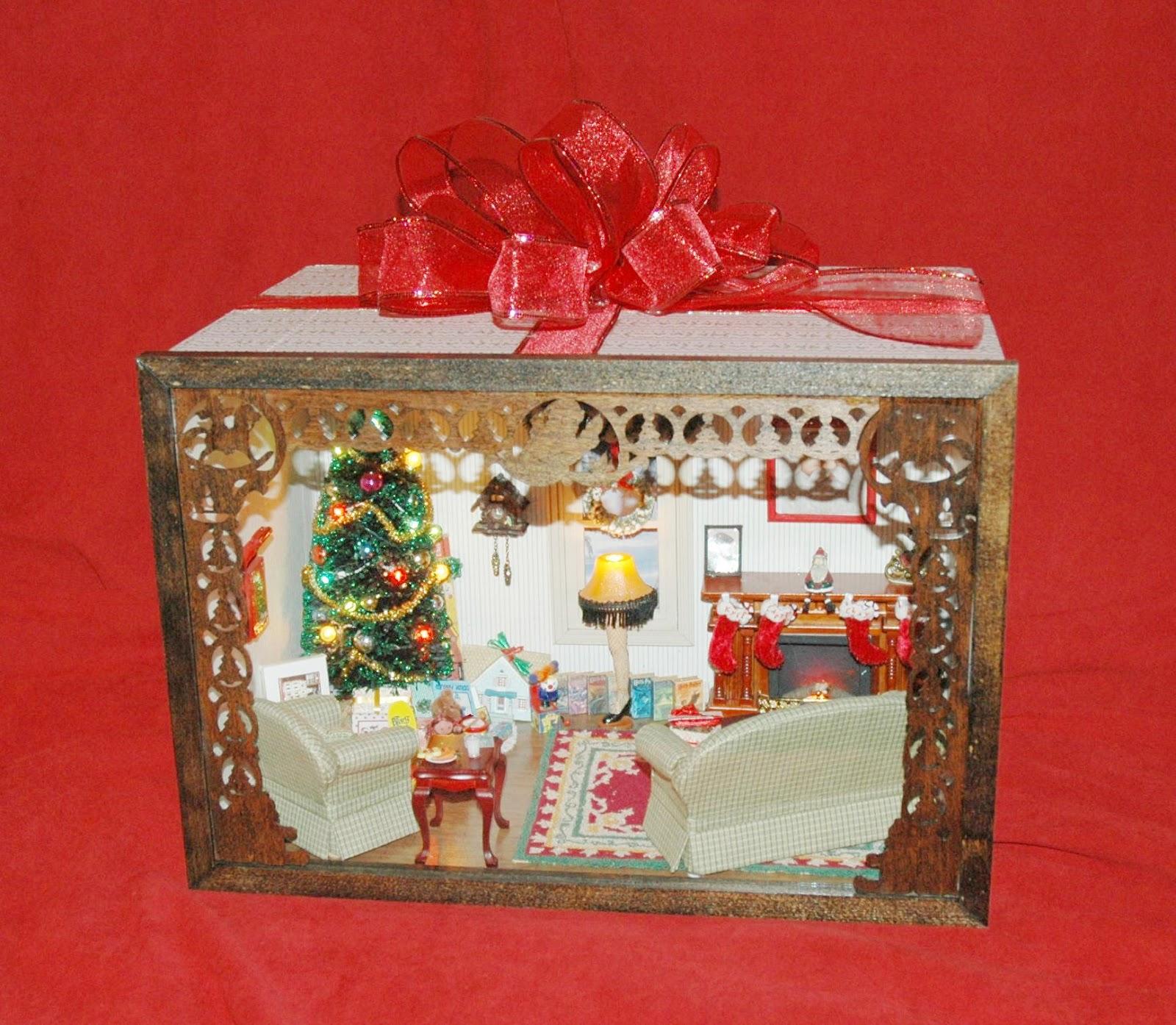 Honey, I Shrunk The House!: Christmas Room Box
