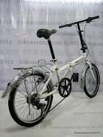 E 20 Inch TwoWheel 6 Speed Shimano Folding Bike