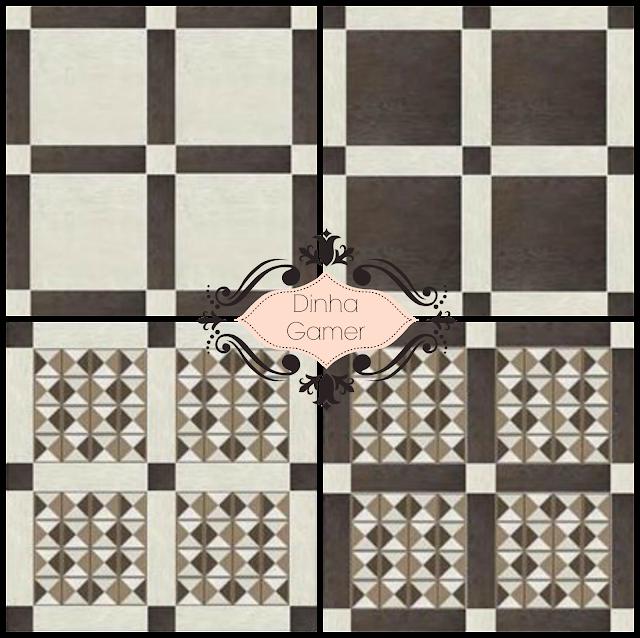 Sims 4 - Classic Ceramic Tiles - Dinha