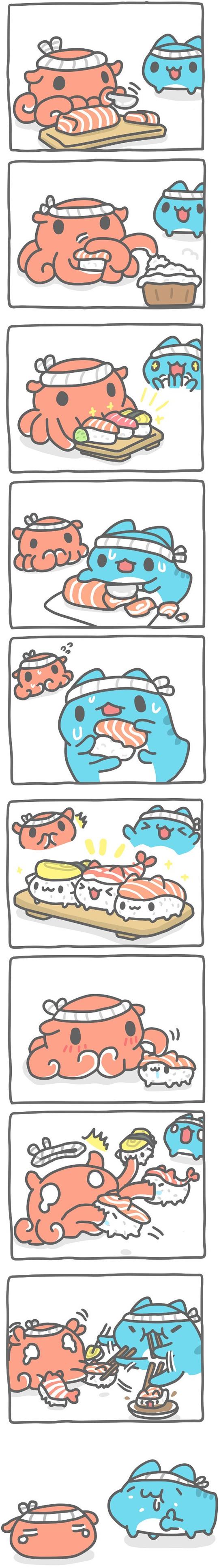 Truyện Mìn Lèo #398: Sushi mèo