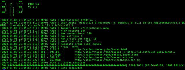 Pidrila – Python Interactive Deepweb-oriented Rapid Intelligent Link Analyzer