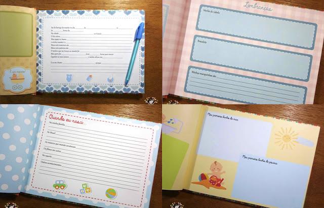 Momentos preciosos: livro do bebê