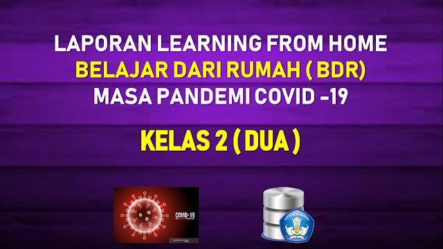 Dokumen Laporan SD/MI Kelas 2 Belajar Dari Rumah (BDR) Masa Pandemi Corona 2020