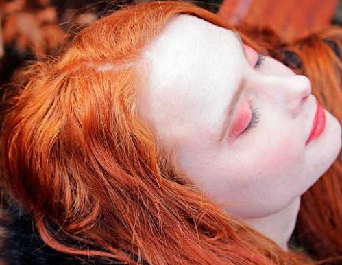 Teñir el pelo de cobrizo o hair copper