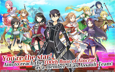 Sword Art Online: Integral Factor Apk for Android