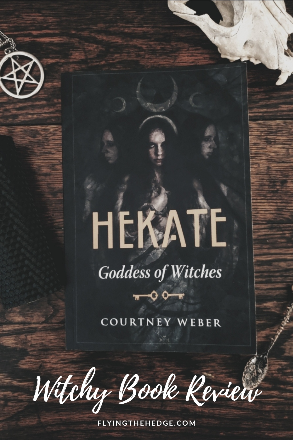 Hekate, book review, witch, witchcraft, keeper of keys, goddess of witches, wicca, wiccan, pagan, neopagan, witchy reads, witch book