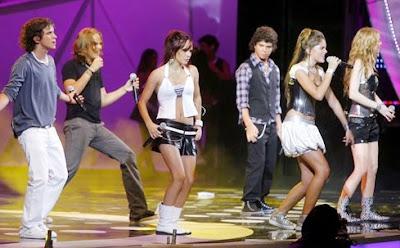 Foto de Six Pack en el escenario