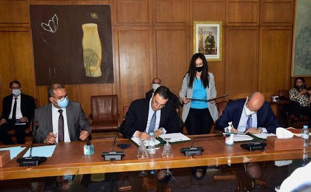 La signature d'un accord de partenariat entre l'Agence Nationale de la Sécurité Routière, « Bareed Cash » et « Barid Bank »