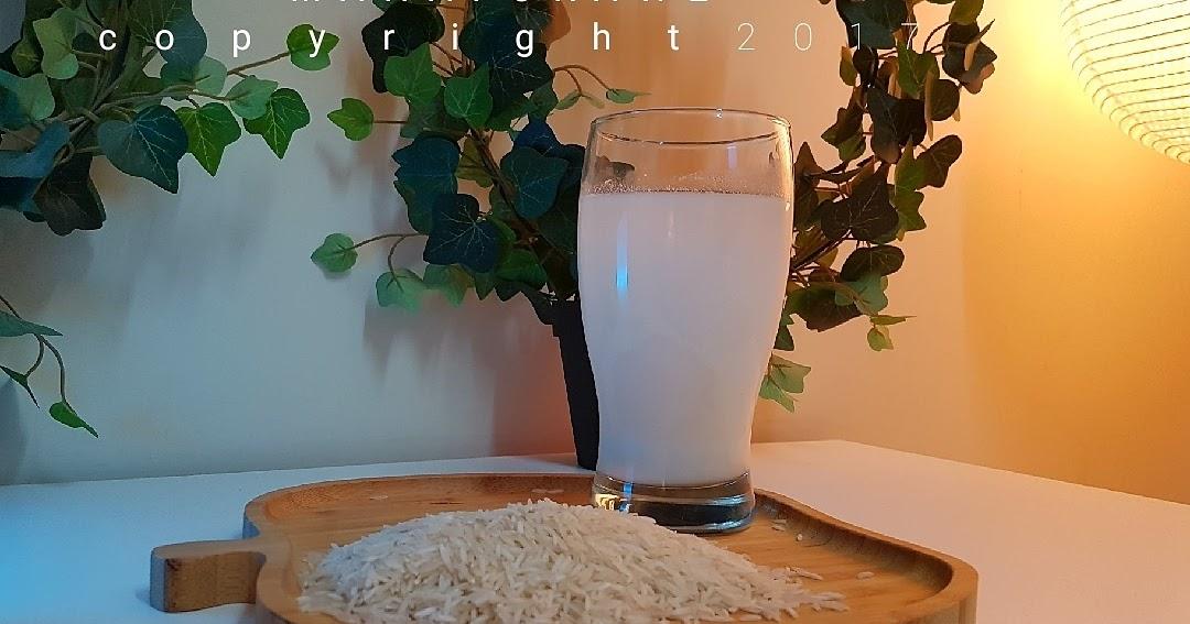 ماء الأرز المخمر للبشرة والشعر