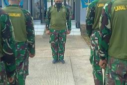 Ridwan Rizky Musa dan Prajurit Lanal Saumlaki Doakan KRI Nanggala 402