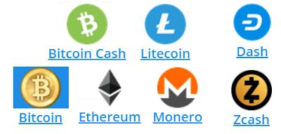 logotipos criptomonedas mas usadas