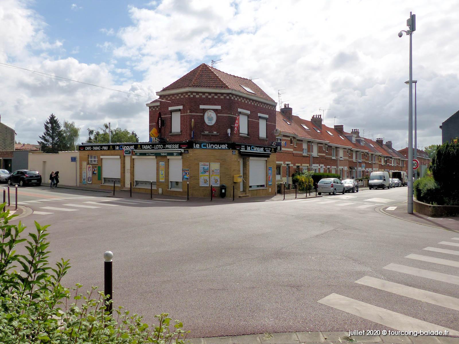 Tourcoing - Carrefour rues Voltaire et du Clinquet