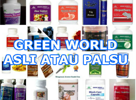 green world palsu