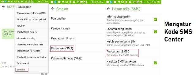 Android Tidak Bisa Kirim SMS