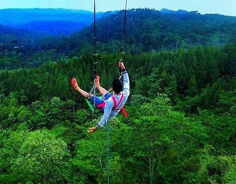 7 wisata ayunan paling seru di Indonesia